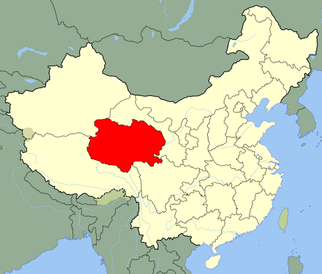 Qinghai Location