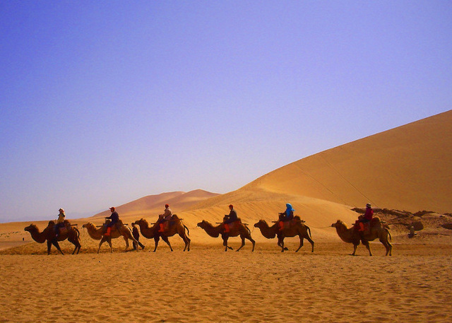 Dunhuang Mingsha Hill - Attraction in Silk Road Experience Tour