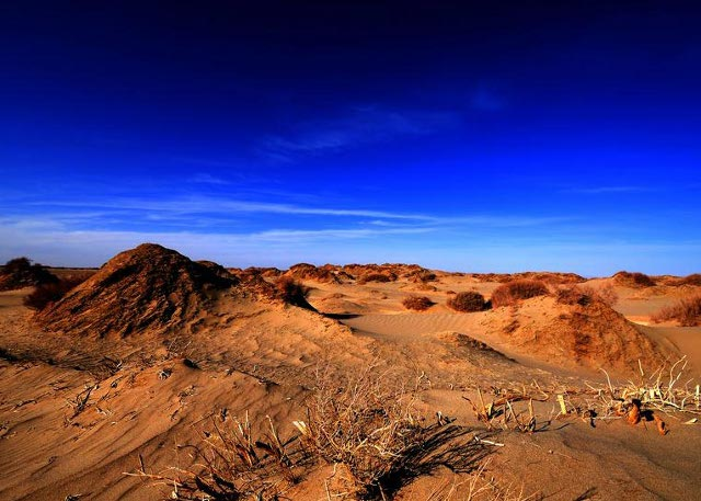 The Gobi Desert in Haixi