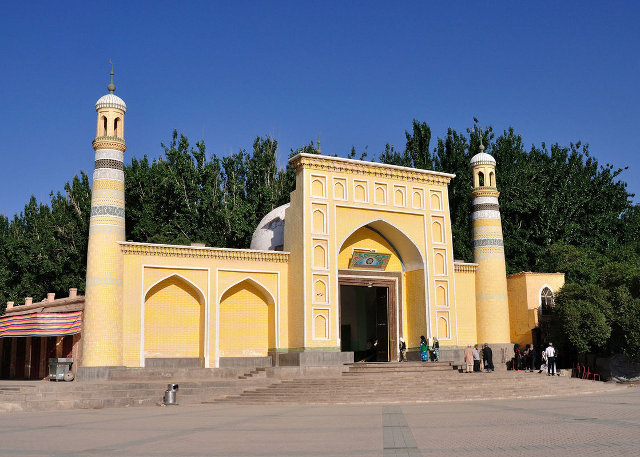 Kashgar Id Kah Mosque - Attraction in Silk Road Adventure Tour