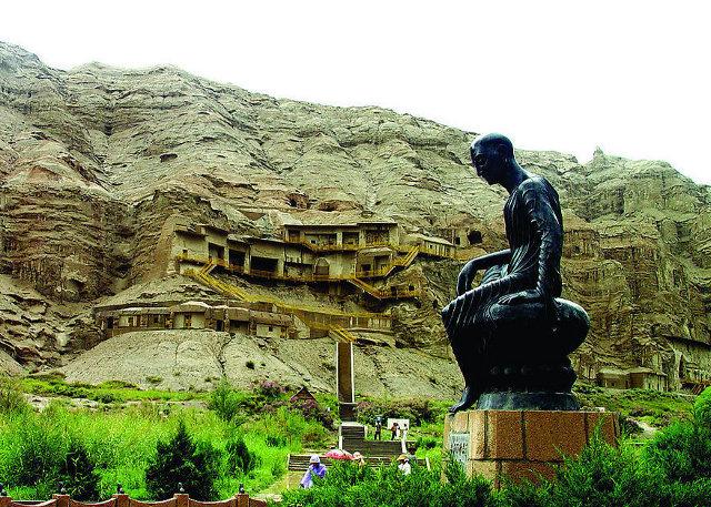 Kuqa Kizil Thousand Caves in Xinjiang