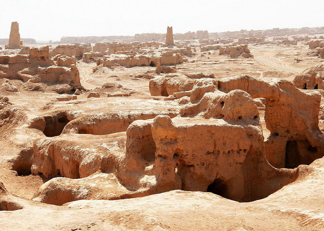 Gaochang Ruins - Famous Attraction in Xinjiang Silk Road Tour