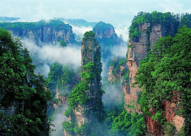 Préférence Zhangjiajie National Forest Park - Travel Information  NI12