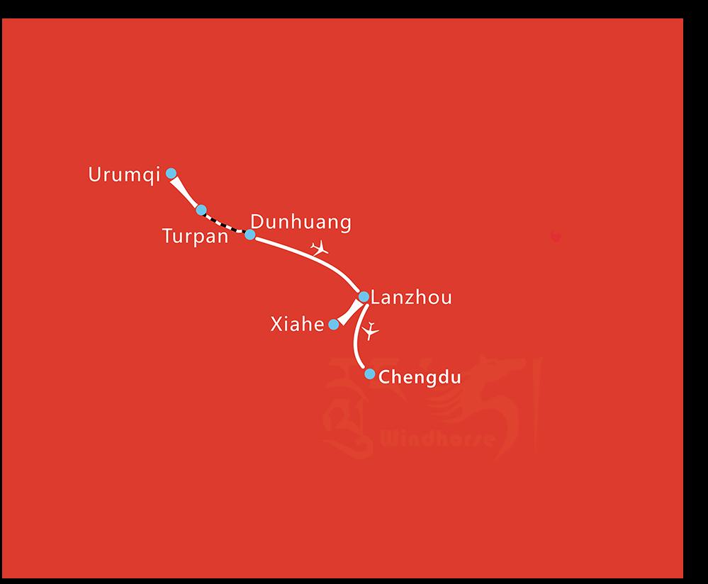10 Days Great silk road giant panda Tour