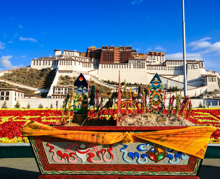 New year celebration Potala