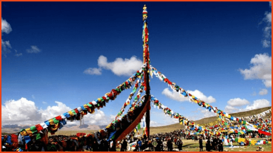 Travel Tibet during Saga Dawa Festival