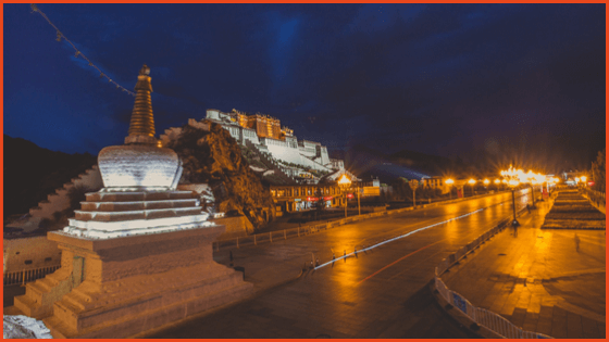 Travel to Potala Palace