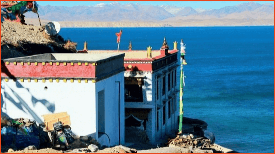 Traveling through Tibet to Lake Manasarovar