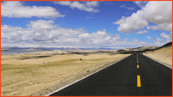 Traveling to Tibet by car