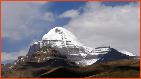View of Mount Kailash