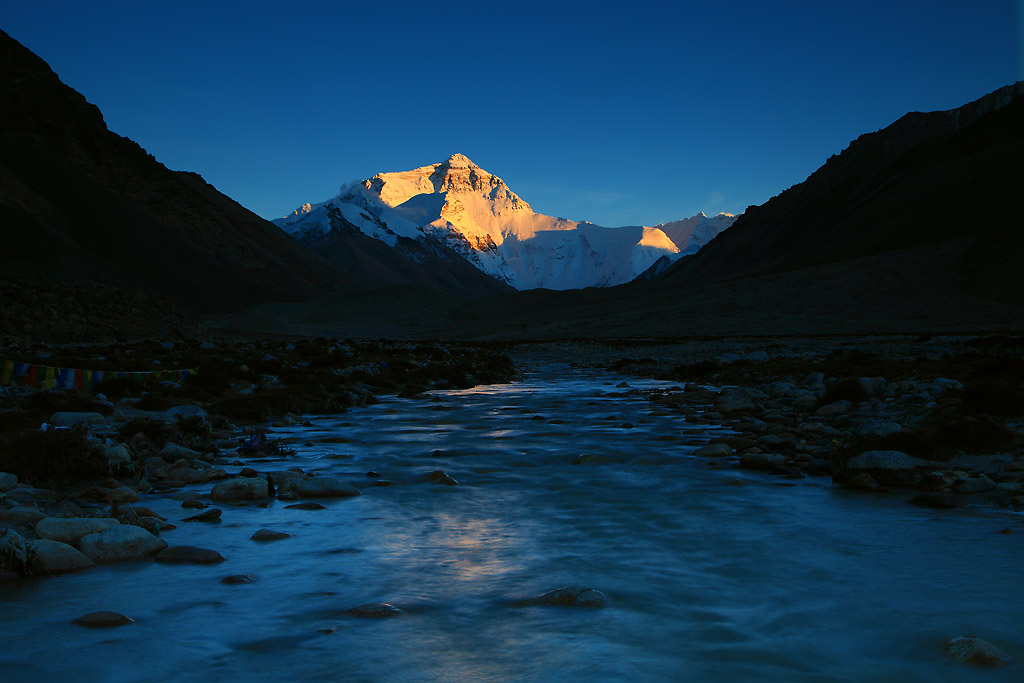 Golden Mountain Everest