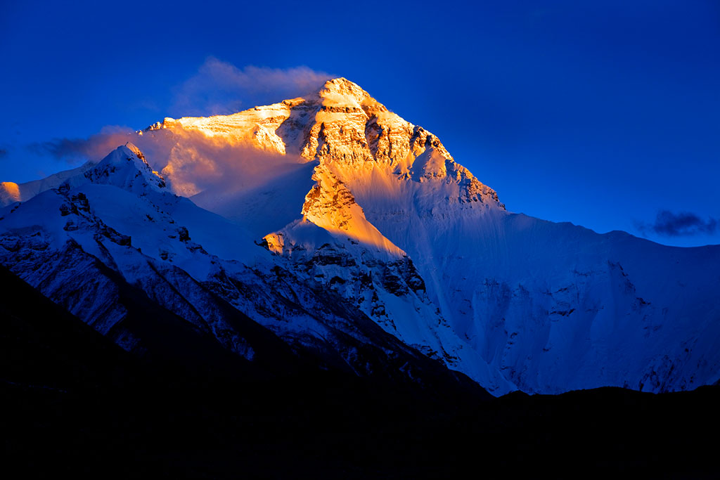 Mountain Everest Tibet