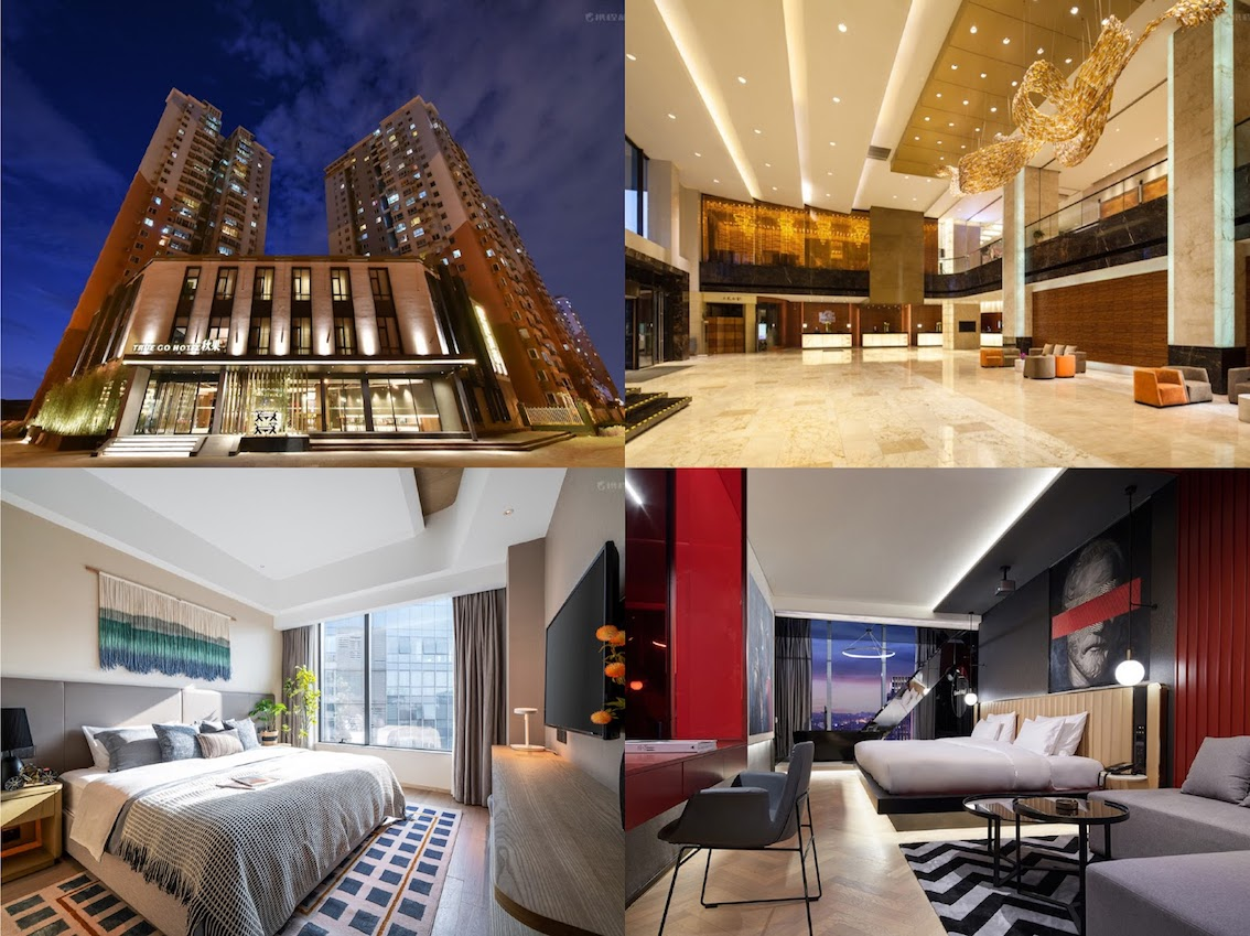 Mid-range hotels in China