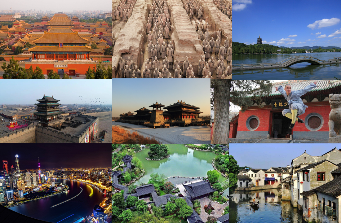 China travel top cities