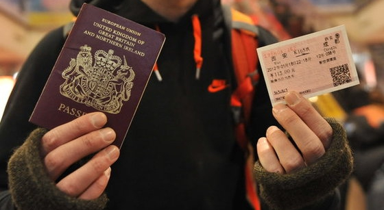 China rail travel - passport now required for foreign travelers to buy tickets and board trains
