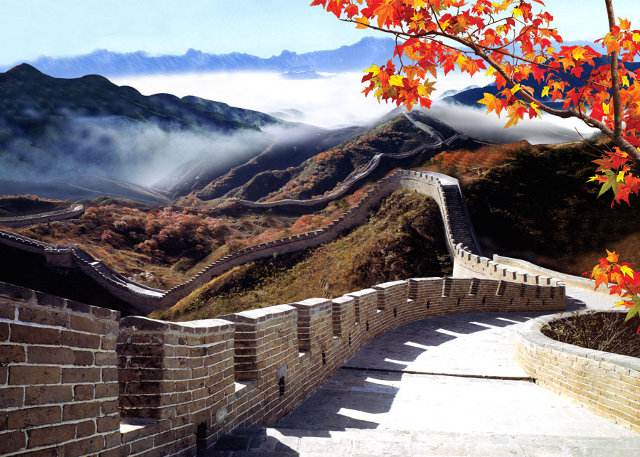 Beijing Great Wall Scenery