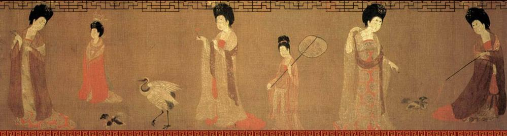 Plump Ladies in Tang Dynasty