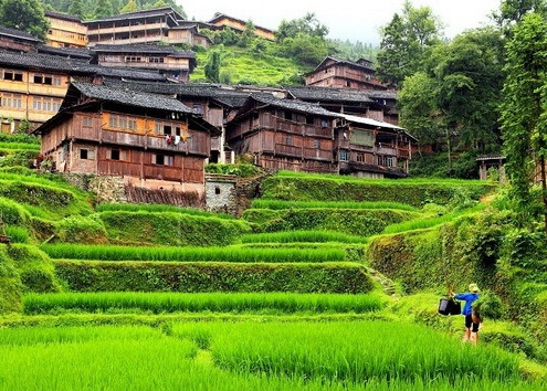 Guizhou Dong Village