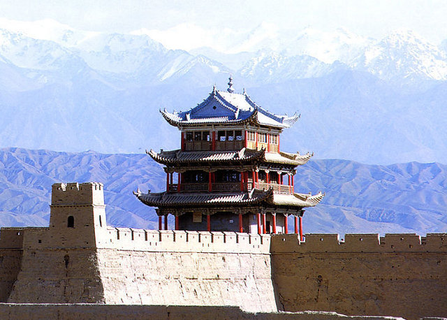 Jiayuguan Great Wall - Attraction in Silk Road Experience Tour