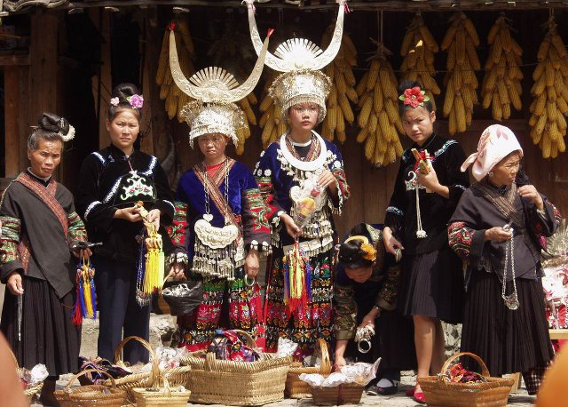 Kaili Miao Minority People