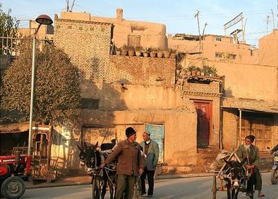 Kashgar Old Town in Silk Road Journey