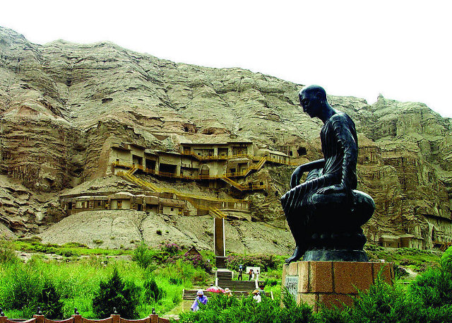 Kuqa Kizil Thousand Caves in Xinjiang