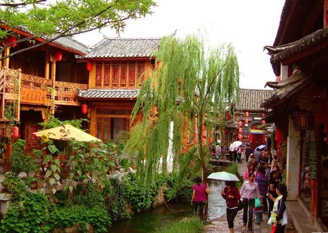 Lijiang Ancient City Sightseeing