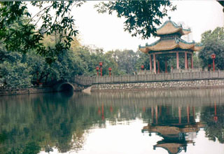 Martyrs Park in Guangzhou