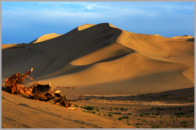 Mingsha in Dunhuang