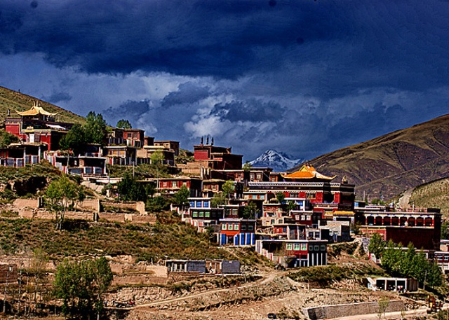 The Monastery in Yushu