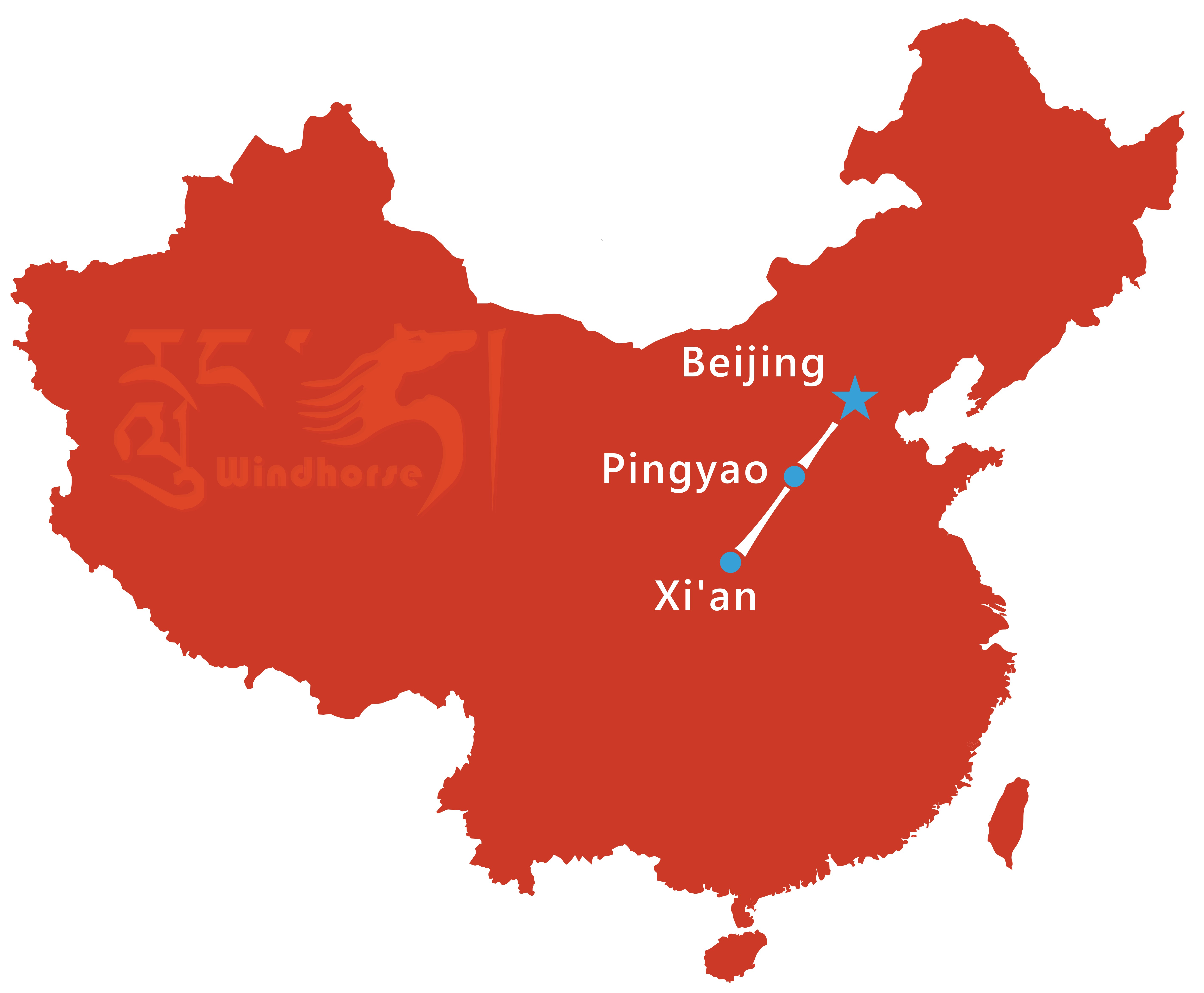 Pingyao Tour Route
