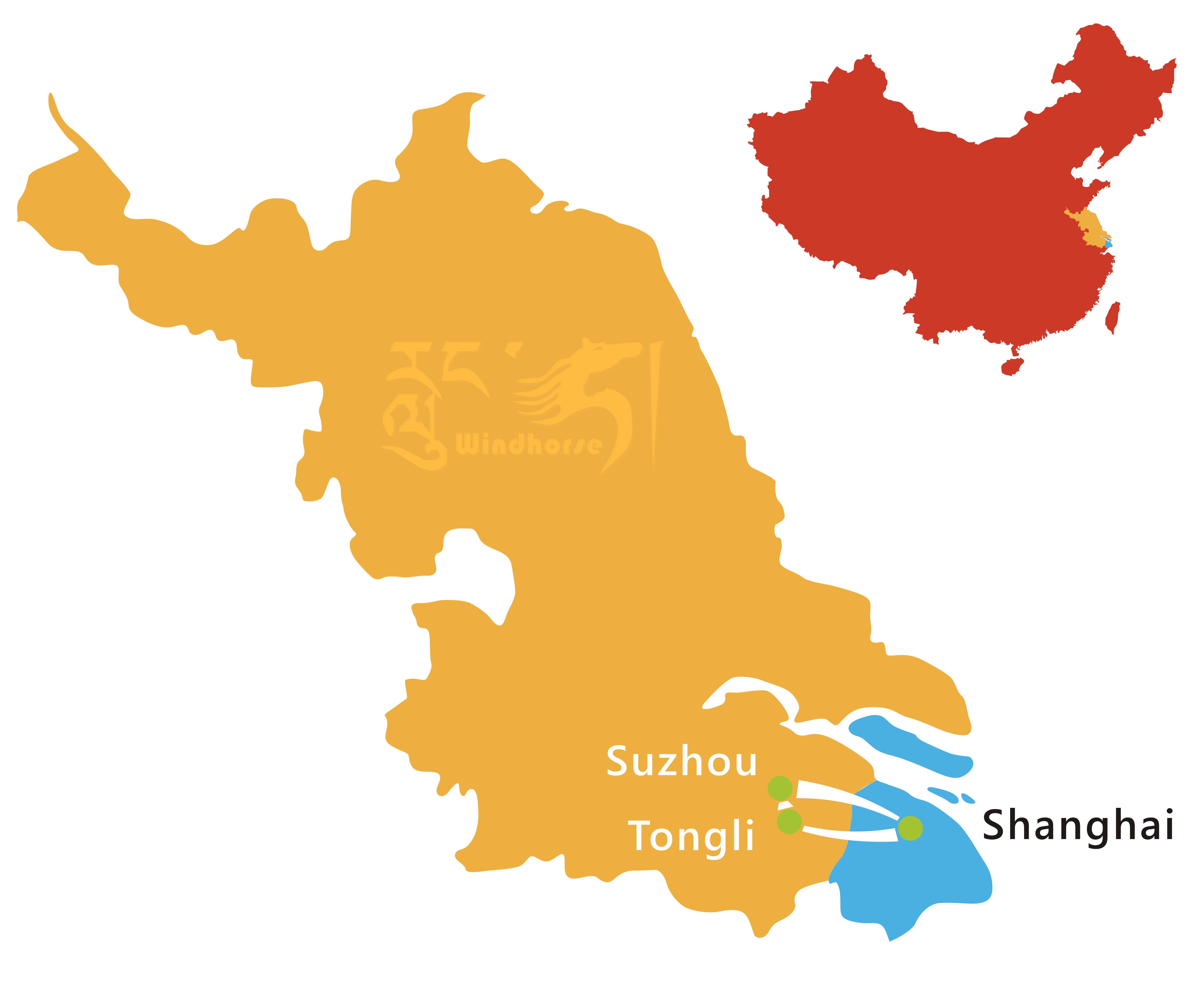 Shanghai Suzhou Tour Route