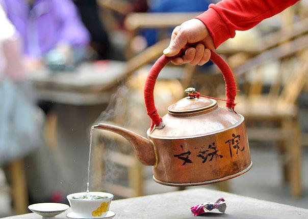 Chengdu Wenshu Temple Teahouse