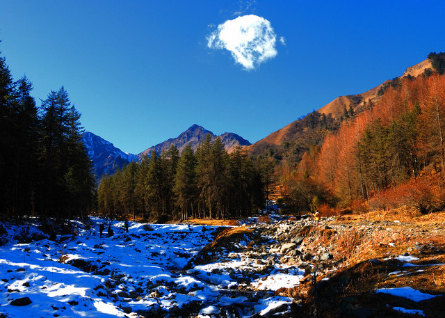 Sichuan Jiajin Mountain
