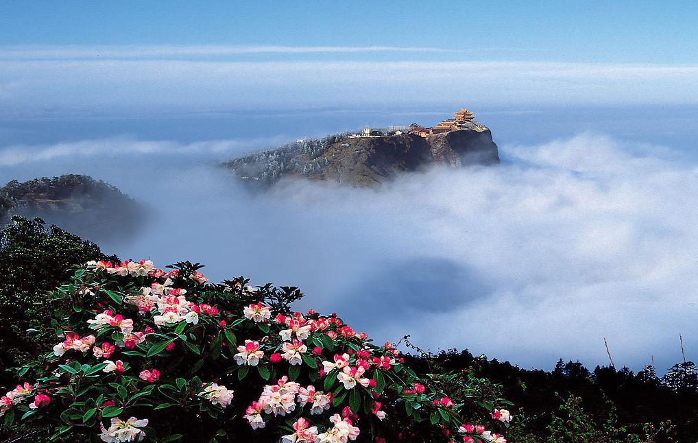 Mt. E'mei in Sichuan province - Chengdu, China