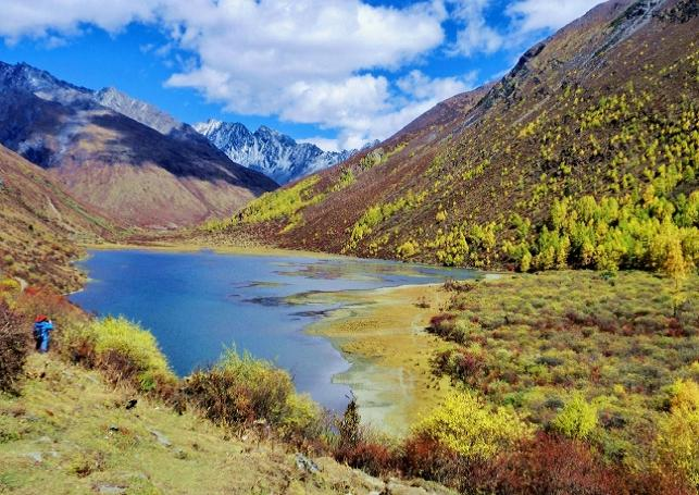 Sichuan Siguniang Haizi Valley Sightseeing