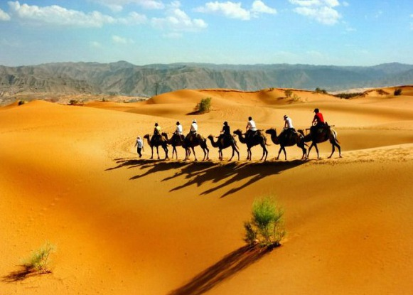 Deserts in Silk Road
