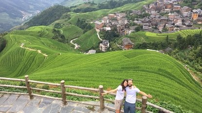 Longji rice terrace Guilin