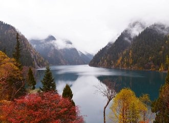 jiuzhaigou fall