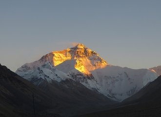 Mount Everest Sunset