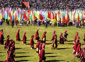 Yushu festival open ceremony