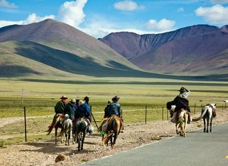 Way to Nagchu from Namtso