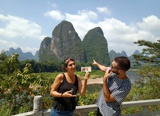 Scenery in Xingping Yangshuo