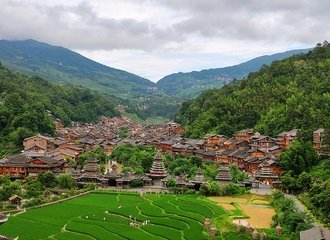 Zhaoxing dong village