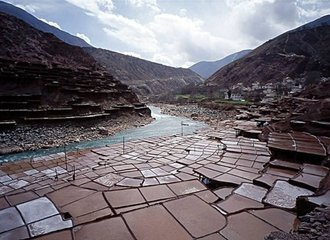 Salt Pans at Yanjing Town