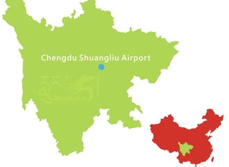 Chengdu Airport Transfer Map