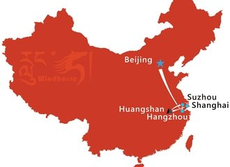 China Photography Tour Route