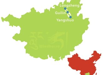 Guilin Longshen Tour Route
