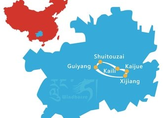 Guizhou Minority Tour Route