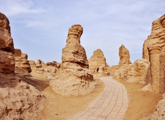 Ancient City of Jiahoe During a Silk Road Turpan Tour